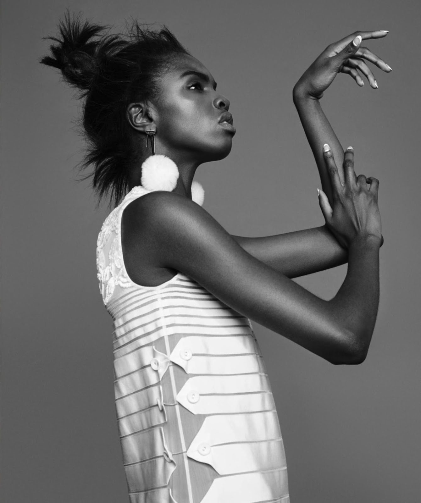 Models of Color: Nylon January 2016: Leomie Anderson