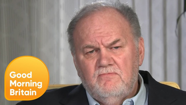 """Video: """"I love you very much"""" – Meghan Markle's dad Thomas wants his Daughter to Make Contact"""