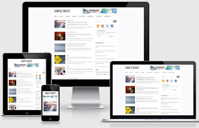 Simple White - Template Blog SEO Friendly Terbaru Gratis!