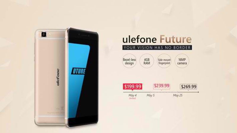 UleFone Future now official