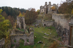 castle medieval ruins hiking there any suitcase mimi young
