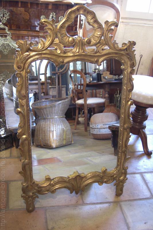 antiquit s brocante c te d 39 azur miroir a vendre. Black Bedroom Furniture Sets. Home Design Ideas