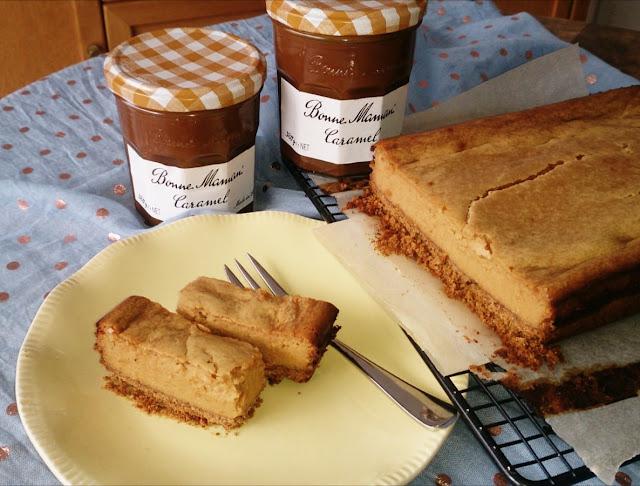 Bonne Maman Caramel, caramel cheesecake
