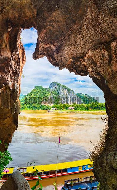 Pak Ou Cave in Luangprabang