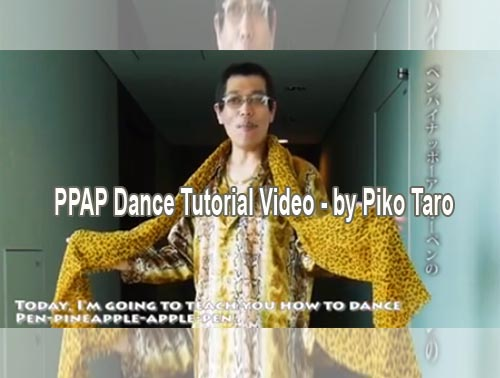 ppap dance tutorial video