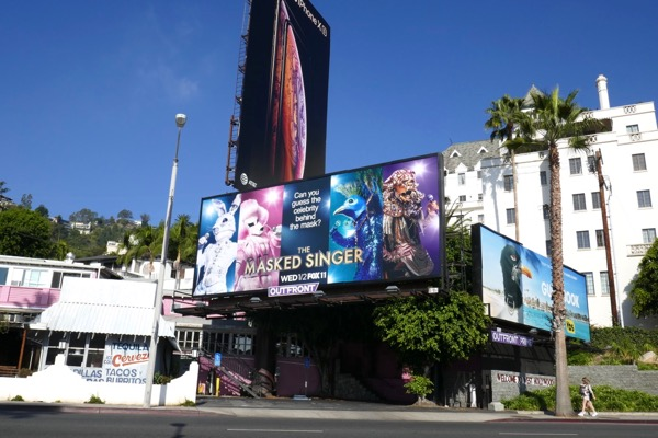 Masked Singer season 1 billboard