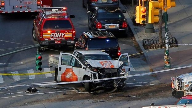 Act of Terror Truck attack kills 8, injures 11 in New York