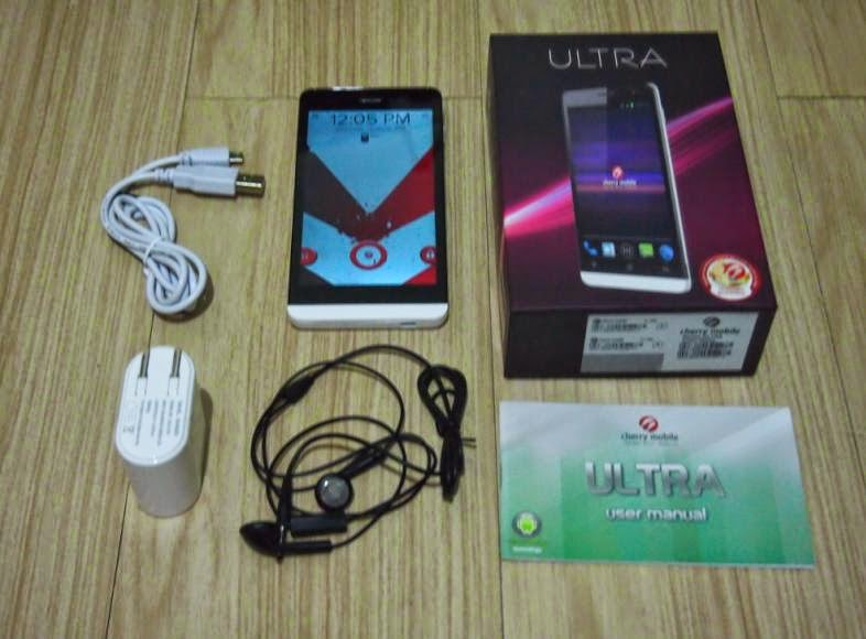 Cherry Mobile Ultra Unboxing, Preview And Initial Impression Retail package