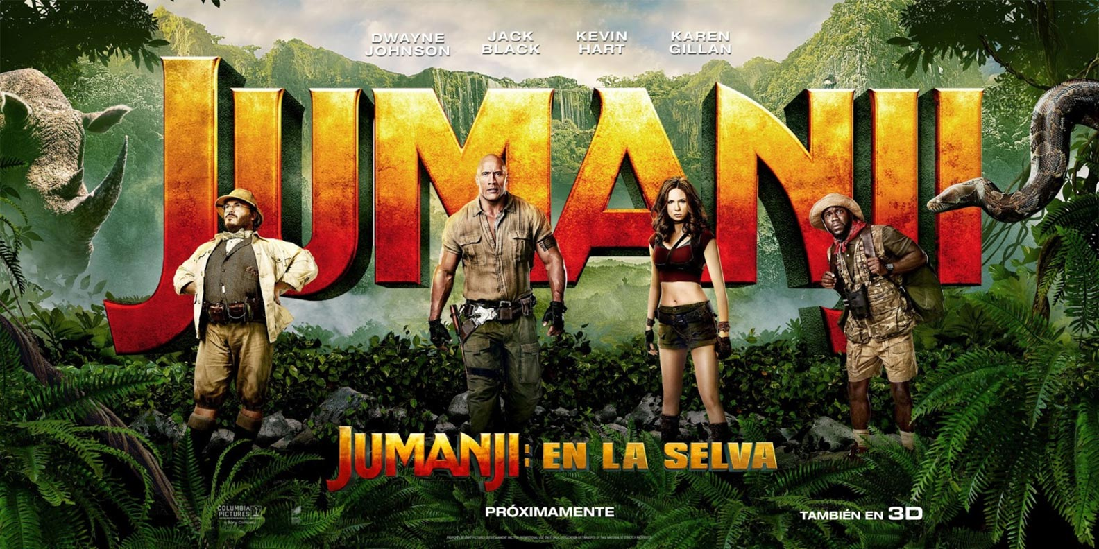 Jumanji 2: Welcome to the Jungle 2017 English BluRay 480p 720p 1080p