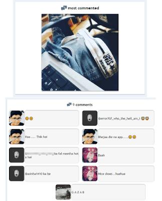 Cara Melihat Foto Instagram Yang Paling Banyak dikomentari Oleh pengguna Instagram