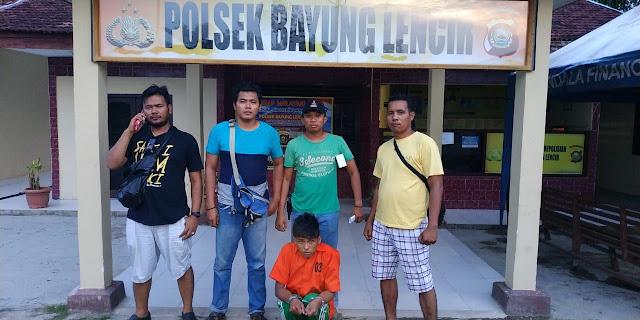 8 Kali Curi Motor, Pemuda di Bayung Lincir Ini Digiring Polisi ke Sel