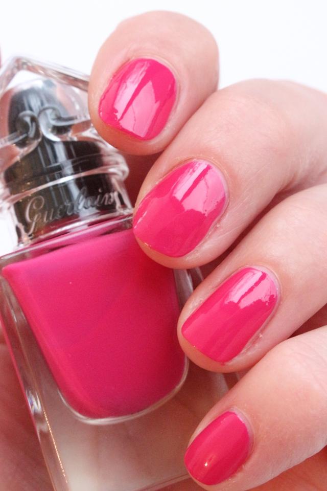 Guerlain La Petite Robe Noire The Nail Polish 002 Pink Tie