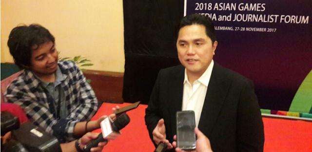 Erick Thohir Diperiksa Polda Metro Jaya dalam Kasus Dugaan Korupsi Asian Games 2018?