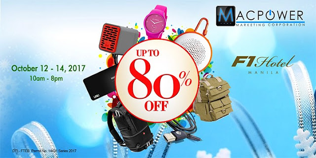 Gadgets and Gears Up to 80% Off at MacPower Sale