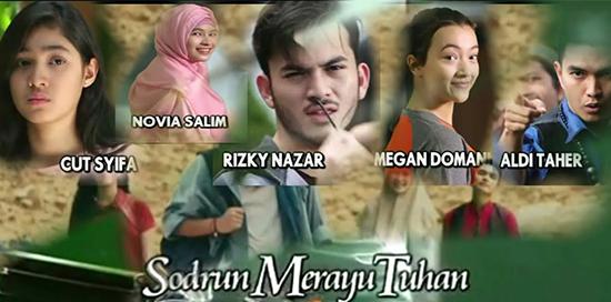 Lirik Lagu OST Sodrun Merayu Tuhan SCTV