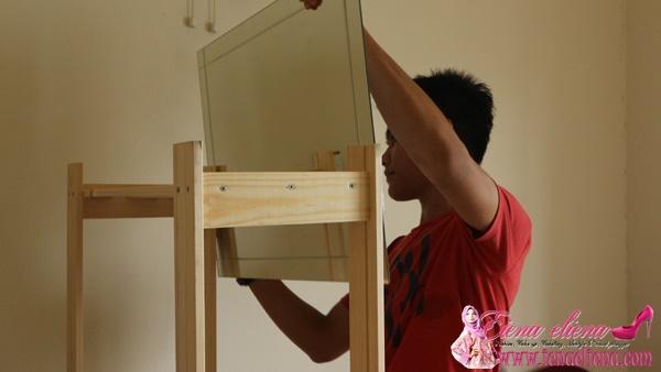 Idea Perabot Berasaskan Kayu Pallet | DIY Meja Solek Dari Kayu Palet