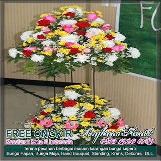RANGKAIAN BUNGA STANDING FLOWER di TOKO BUNGA DI BEKASI, CIKARANG, CIBITUNG, KARAWANG, CIBUBUR, DEPOK, JAKARTA | BUNGA BEKASI FLORIST