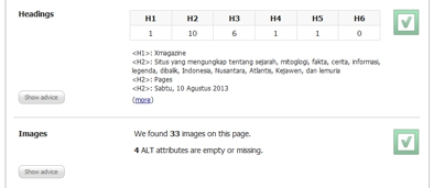 Cara mengatasi Images ALT attributes are empty or missing