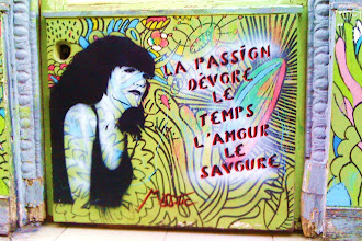 Sunday Street Art : Miss Tic - rue de la Forge Royale - Paris 11
