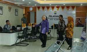 Hari Pertama Masuk Kerja setelah Idul Adha, Sekda Kota Palembang Adakan Sidak