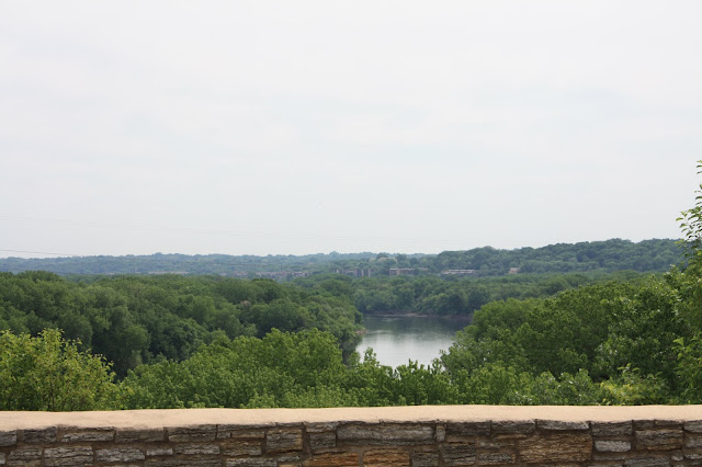 Mississippi River from Fort Snelling