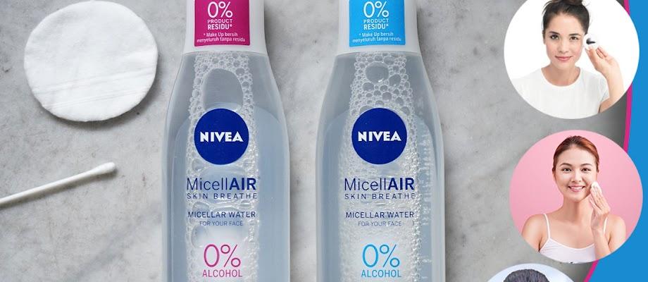 Micellar Water yang Tepat untuk Kulit Berjerawat