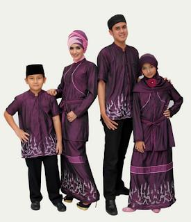 Model Baju Busana Muslim Untuk Hari Raya Lebaran 2017