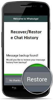 Cara recover atau restore pesan WhatsApp yang terhapus