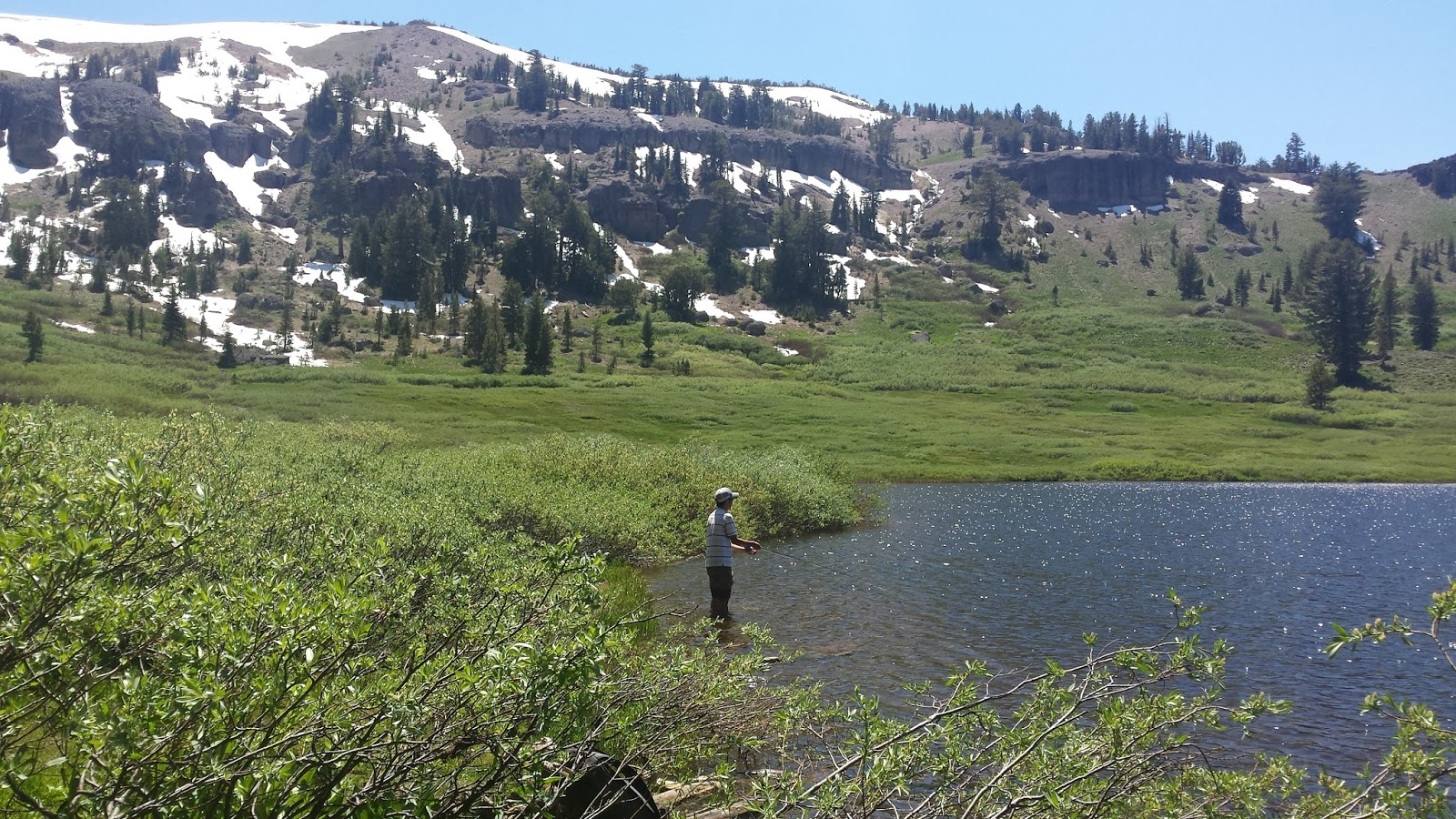 Keep calm and fly fish california heritage trout for Fish lake ca