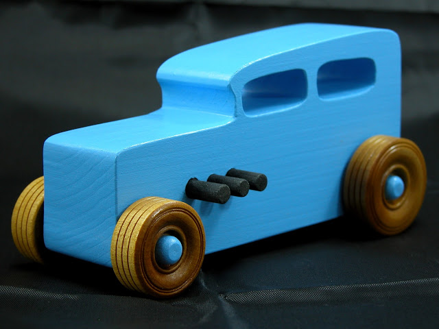 20171116-124739 - Wooden Toy Car - Hotrod Freaky Ford - 1932 Ford - Sedan