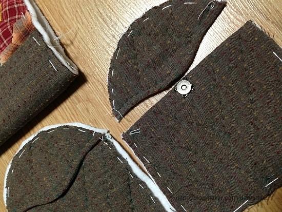 Bag Hexagon Patchwork   DIY step-by-step tutorial.  Сумка с шестиугольниками из лоскутков в технике пэчворк