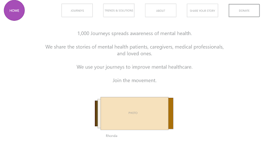 Mental Health Campaign Site Prototype
