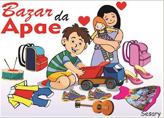 APAE de Registro-SP realizará Bazar Beneficente