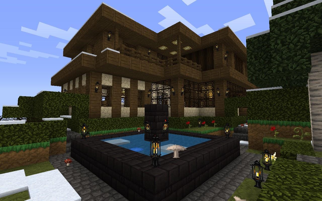 My Minecraft Constructions: Minecraft 1st Construction - Construction Minecraft
