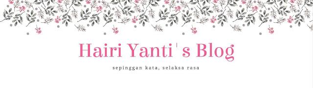 Hairi Yanti, penulis cerita anak