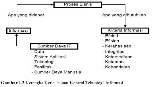 kerangka kerja tujuan kontrol teknologi informasi