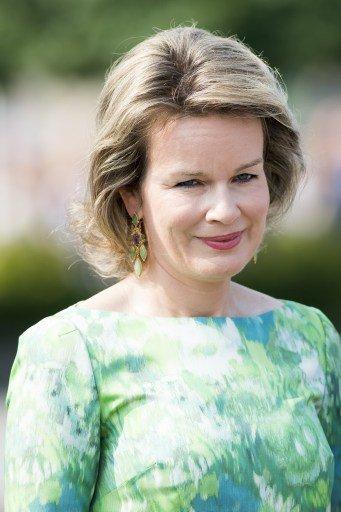 King Philippe and Queen Mathilde of Belgium paid tribute to Emile Verhaeren