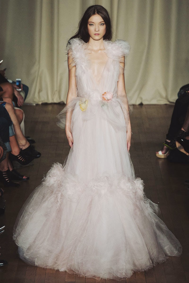 Marchesa Spring 2015 Ready-to-Wear London Fashion Week