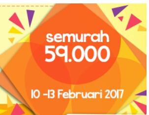 Promo domain murah .com .net  february 2017
