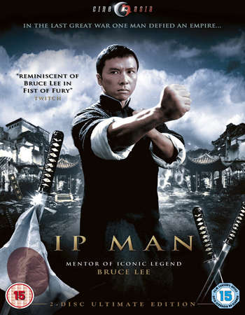 Poster Of Ip Man 2008 Dual Audio 400MB BRRip 720p HEVC Free Download Watch Online Worldfree4u