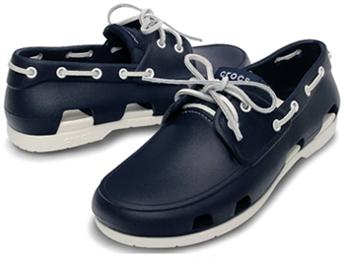 """3e9e165ee2e ... o principal objetivo da CROCS é criar calçados com o conceito """"Find  Your Fun"""""""