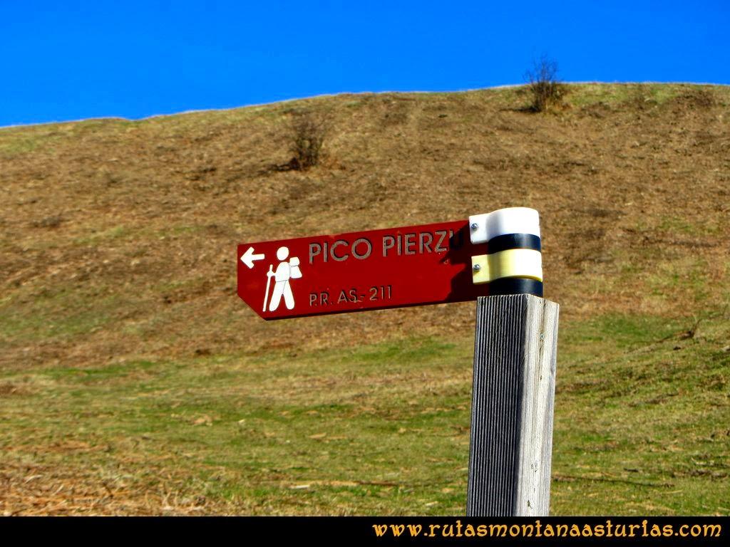 Ruta al Pico Pierzu: P.R. AS-211