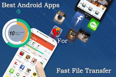 5 Daftar Aplikasi Transfer File Data Terbaik di Android