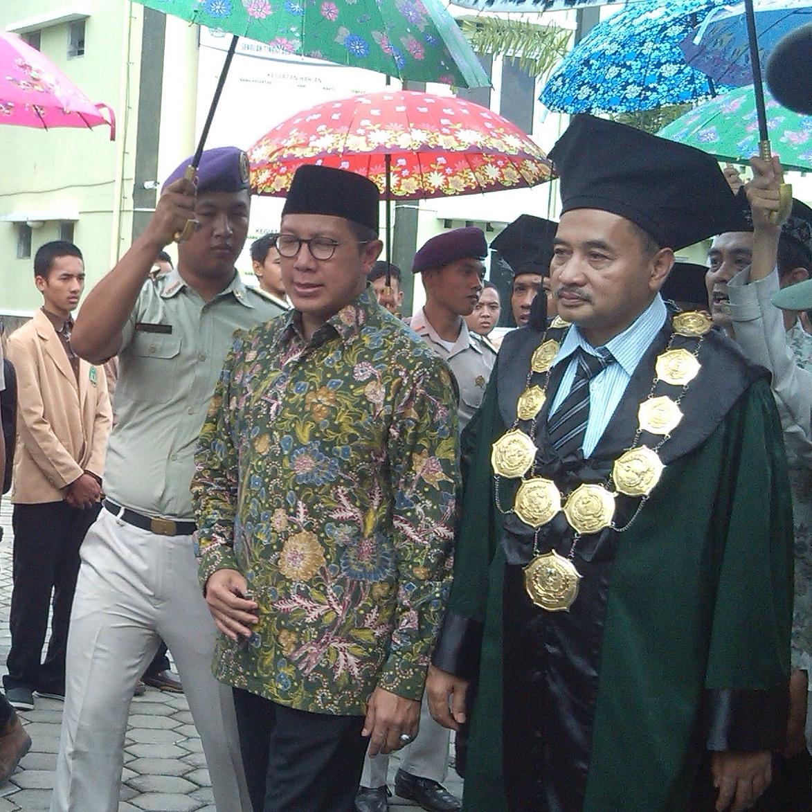 Menteri Agama Resmikan Kelas Internasional Dan LIPI Corner