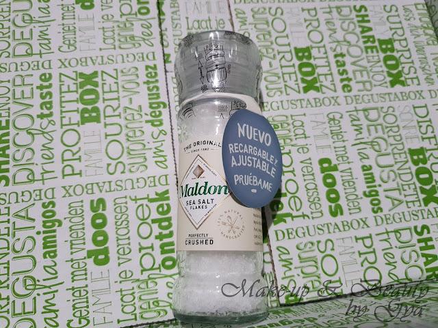 Molininllo de sal Maldon Degustabox Abril ´18 - Especial Aniversario