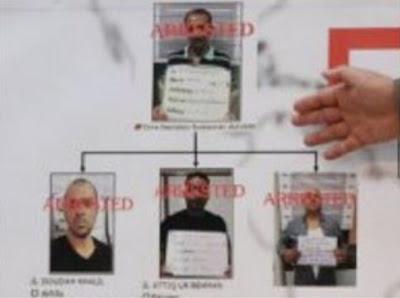 nigerian scammers arrested Bangkok thailand