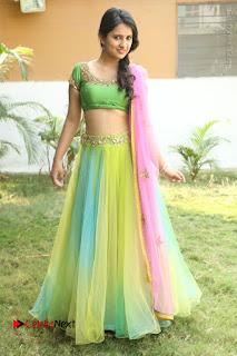Actress Nikitha Bisht Stills in Lehenga Choli at Pochampally Ikat Art Mela Launch  0410.JPG