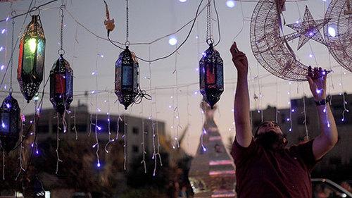 صور زينة شهر رمضان - احتفالات شهر رمضان فى مصر 2016