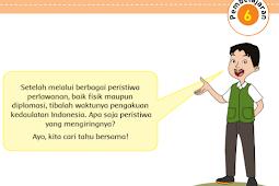 Kunci Jawaban Kelas 5 Tema 7 Subtema 2 Pembelajaran 6