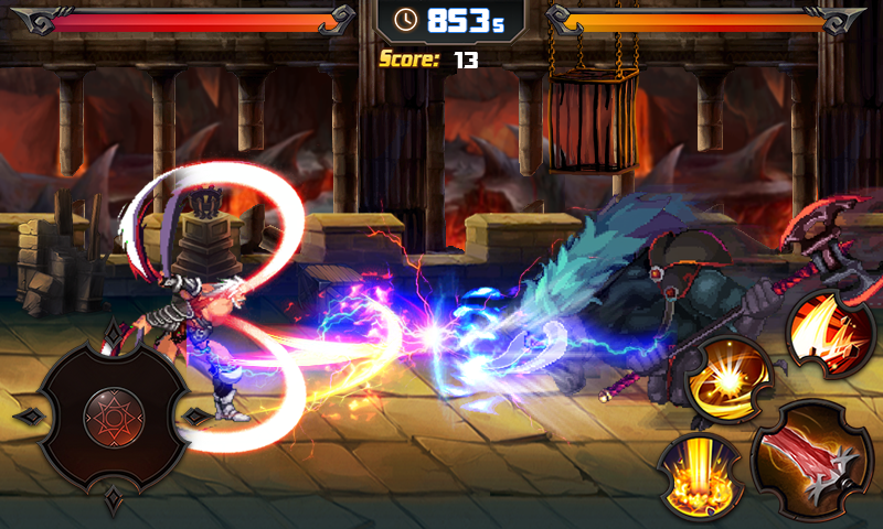 Death Blade Fight MOD APK terbaru